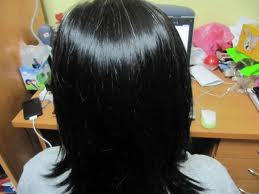 cheveux blanc
